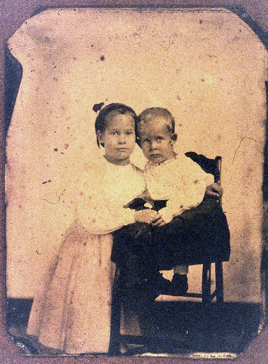 Belle and Frank Tiisdale c1862, belletisdale.blogspot.com