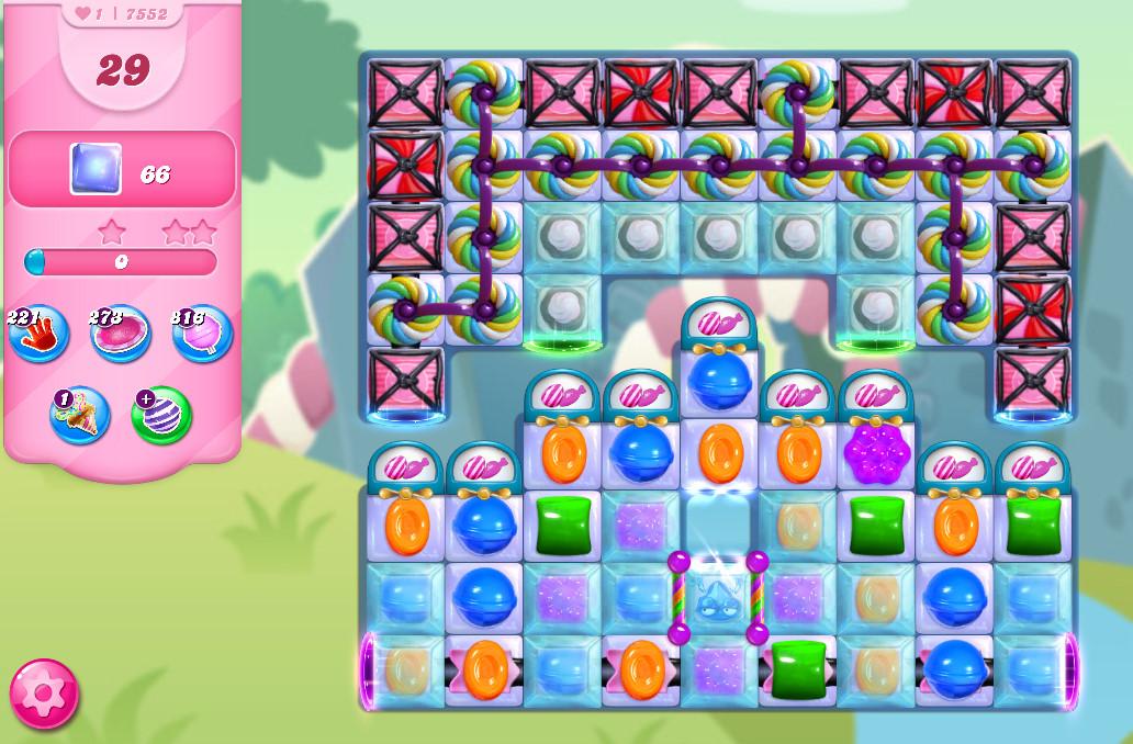Candy Crush Saga level 7552