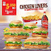 Burger king Kuwait - Order Chicken Lovers online and enjoy 6 different sandwiches for only KD 5.750 .