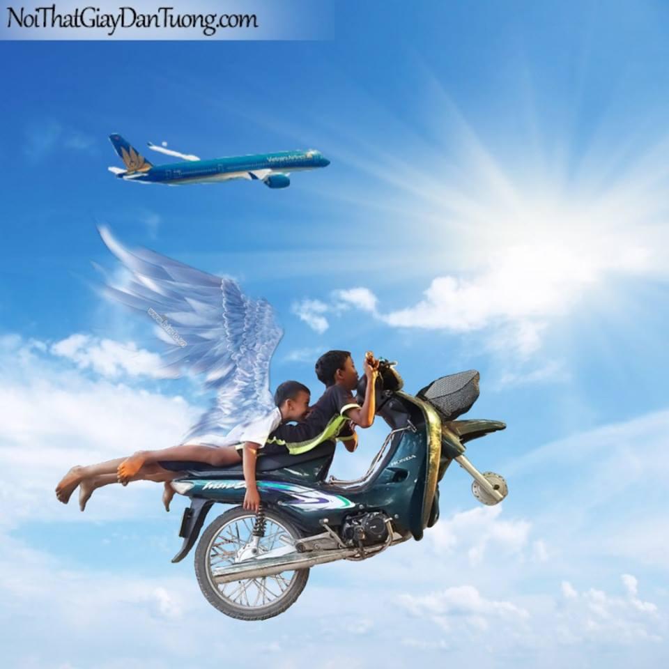 bay lên trời
