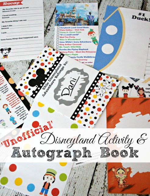'Unofficial' Disneyland Activity & Autograph Book