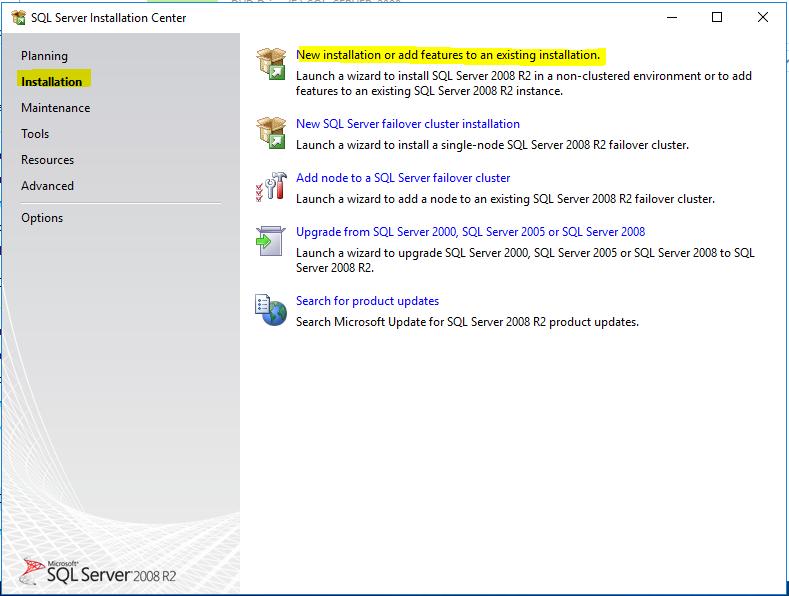 Cara Instal SQL Server 2008 R2 - Mahatamainfo