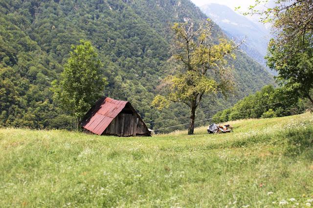 Vallée des gorges de Tolmin