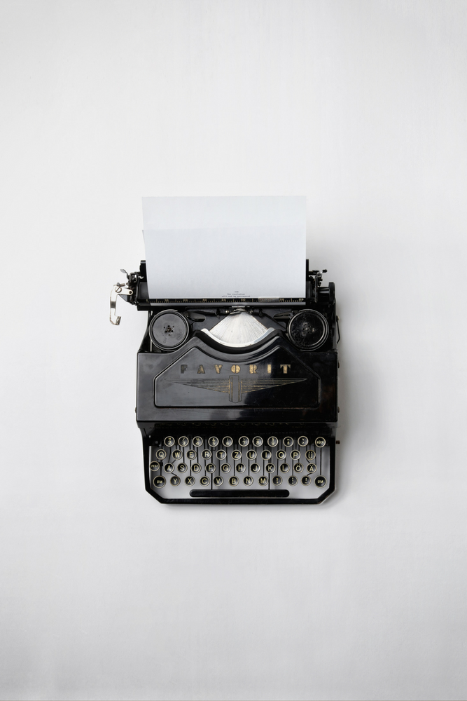 Alte Schreibmaschine | Arthurs Tochter kocht. von Astrid Paul. Der Blog für food, wine, travel & love