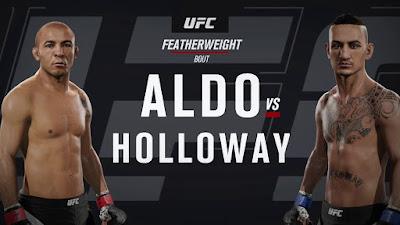 Horário da luta José Aldo  x Max Holloway  03-06-217