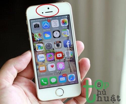Kiểm tra loa, mic, pin và các cảm biến iPhone