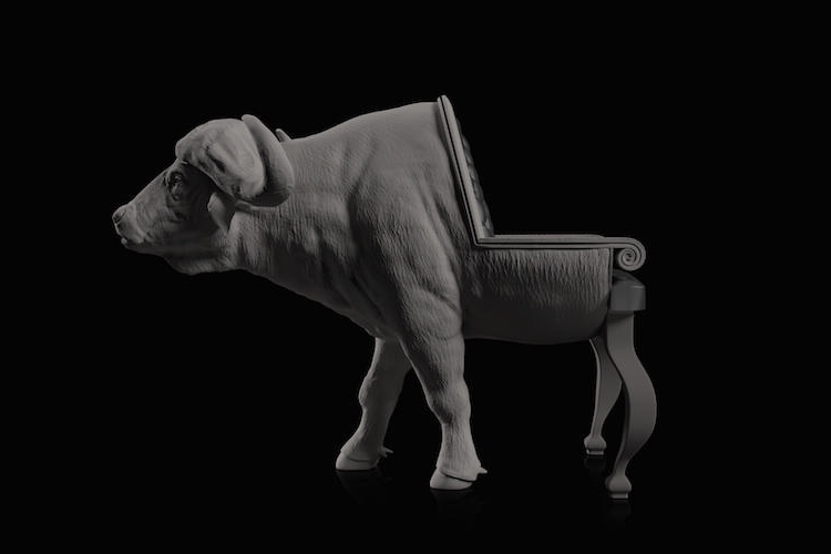 16-Buffalo-Maximo-Riera-Animal-Shaped-Furniture-Chairs-and-Sofas-www-designstack-co