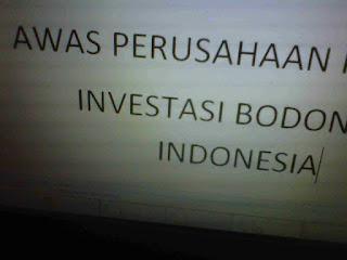 Tips Dan Cara Mudah Mengetahui Apakah Produk Satu Perusahaan Investasi Bodong di Indonesia