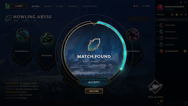 how to get a league pbe account
