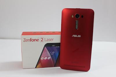 Zenfone 2 laser duoc thiet ke nho gon