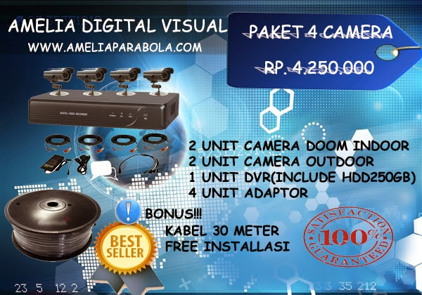 PAKET PEASANGAN 2 CAMERA CCTV