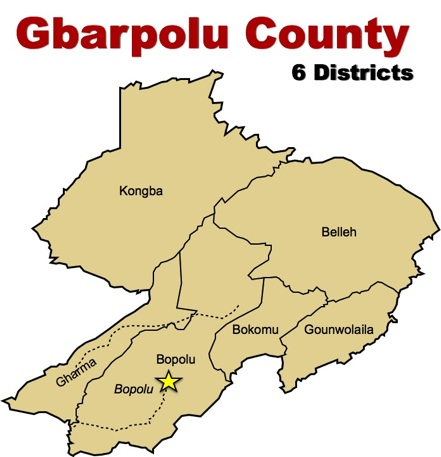 Image result for gbarpolu county map