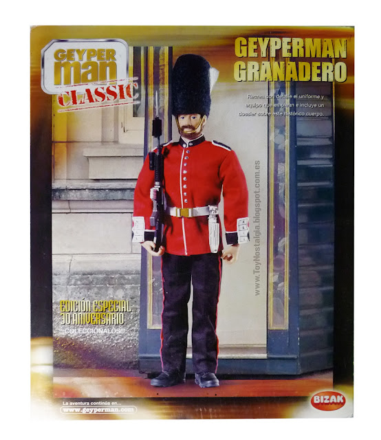 Geyperman Classic 30th anniversary British Royal Guard Bizak (MIB)