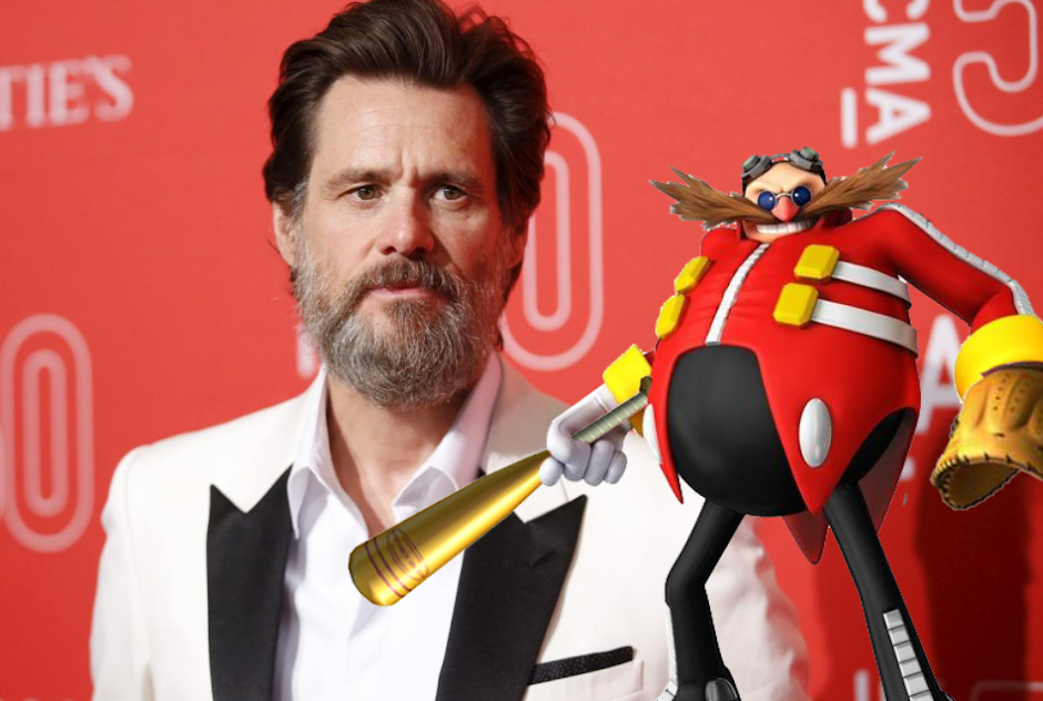"Jim Carrey será Doutor Eggman no filme do ""Sonic"""