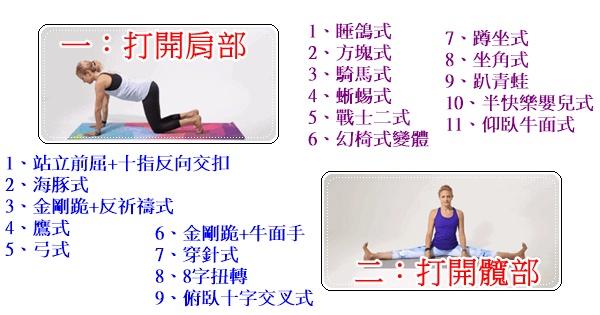 2套經典的瑜伽序列,有效幫你打開肩和髖(動圖示範)
