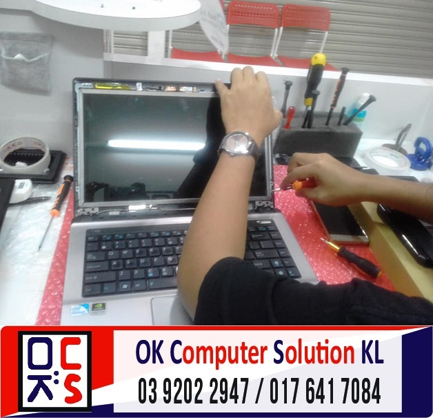 [SOLVED] SKRIN ASUS A43S PECAH | REPAIR LAPTOP CHERAS 2