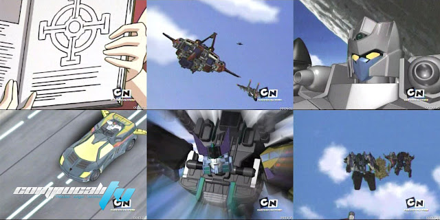 Transformers Cybetron Serie Completa Español Latino