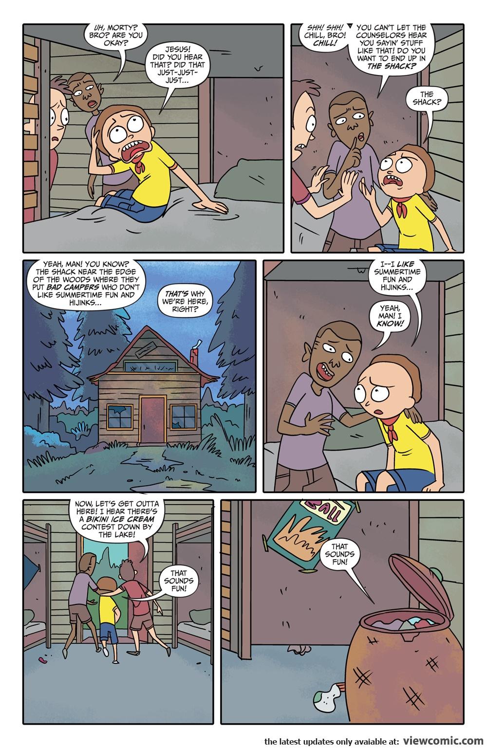 Rick and Morty 005 (2015) …………………… | Viewcomic reading