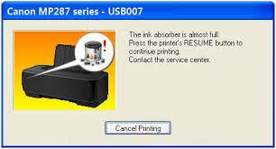 Cara Memperbaiki Printer Canon Mp287 Error E08 Dengan Reseter