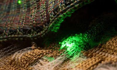 Díodes optoelectrònics en fibres units en teles rentables