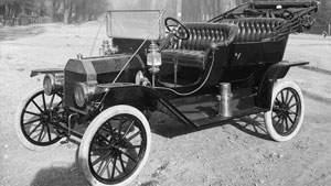 Ford model T 1908, mobil pertama yang direparasi Soichiro Honda