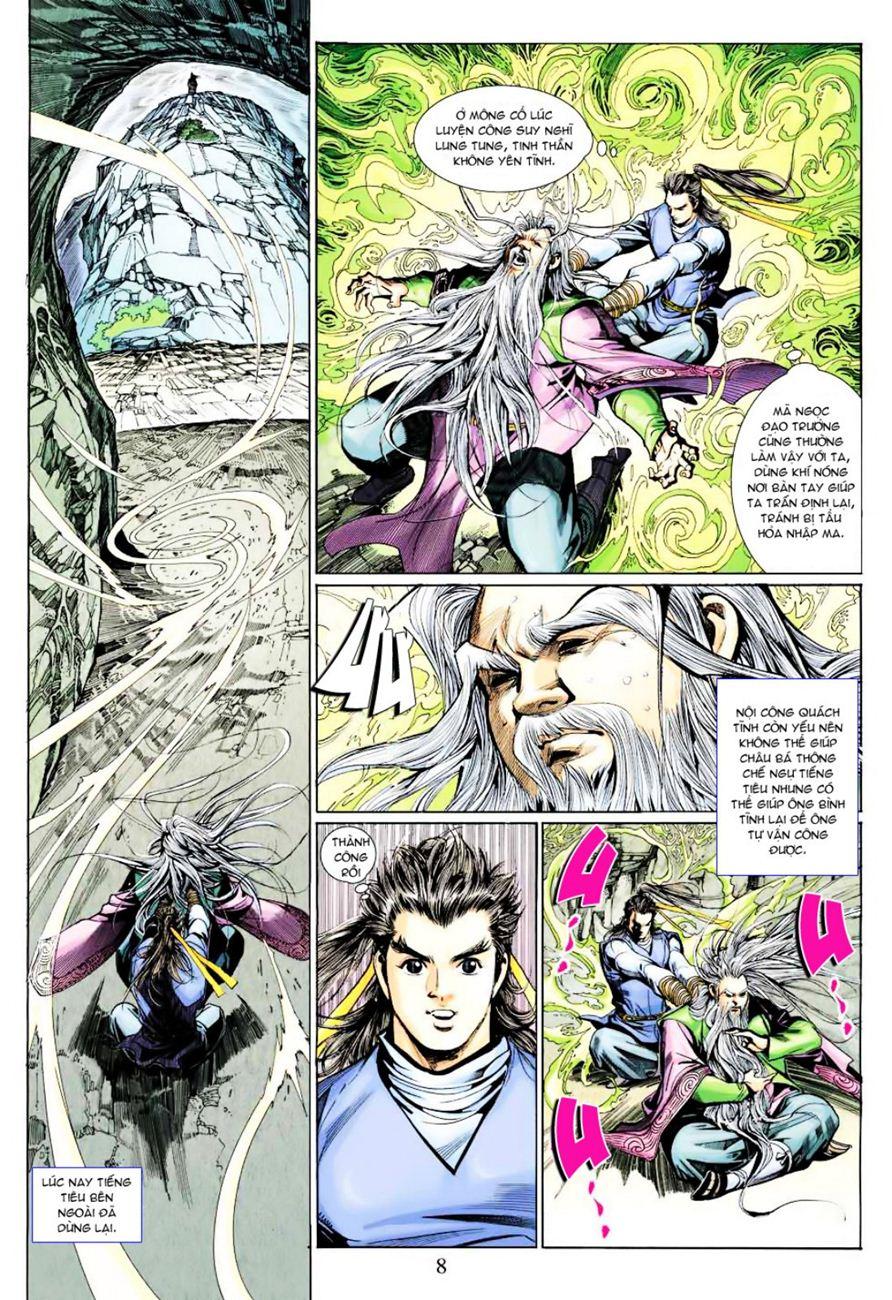 Anh Hùng Xạ Điêu anh hùng xạ đêu chap 40 trang 8