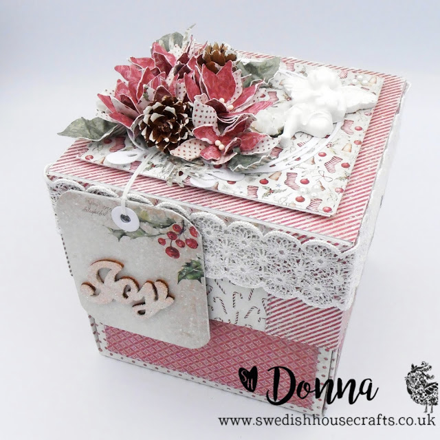 Maja Design Christmas Season Exploding Box | By Donna