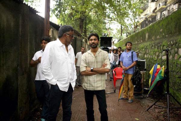Dhanush on shooting location of Shamitabh