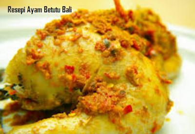 Resepi Ayam Betutu Bali