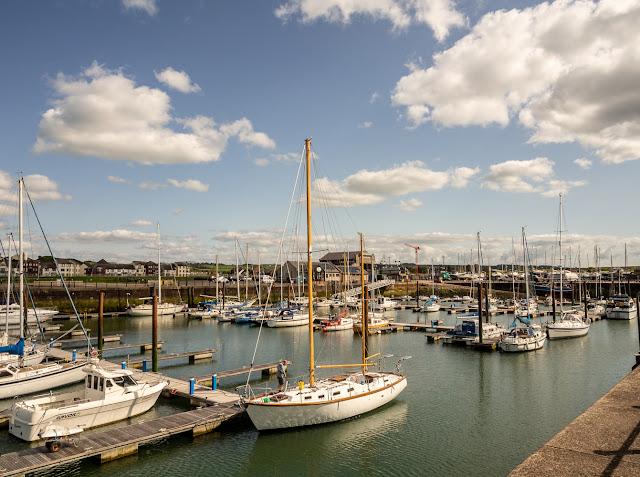 Photo of another sunny day at Maryport Marina