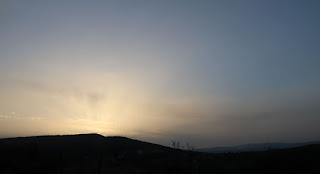 A lovely evening again