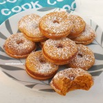 Unbelievably easy recipe ! Pumpkin Donuts are Fall sweet treat favorites (Recipe for homemade Pumpkin Spice also given)