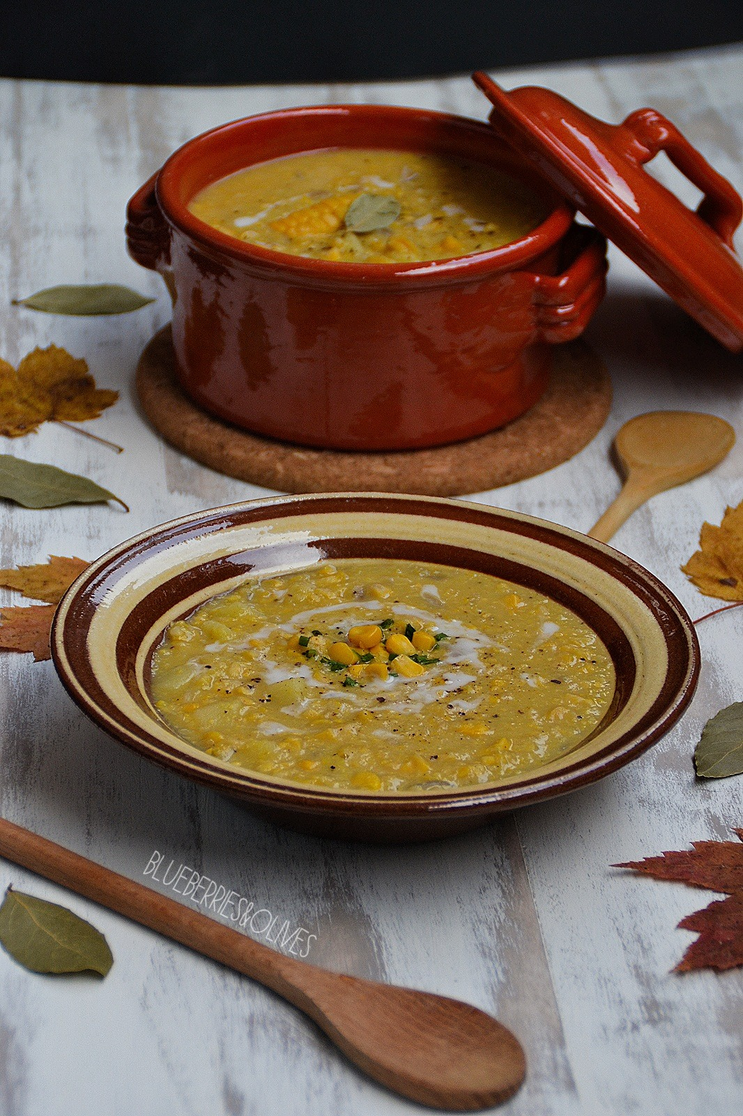 CREAMY CORN AND POTATO CHOWDER
