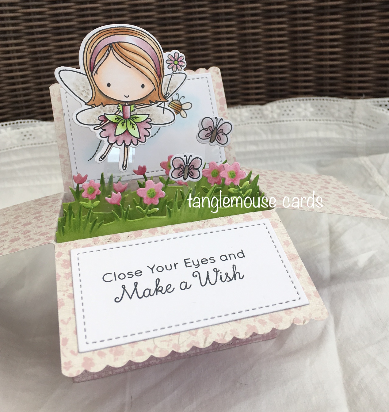 tanglemouse cards: Fairy Happy...