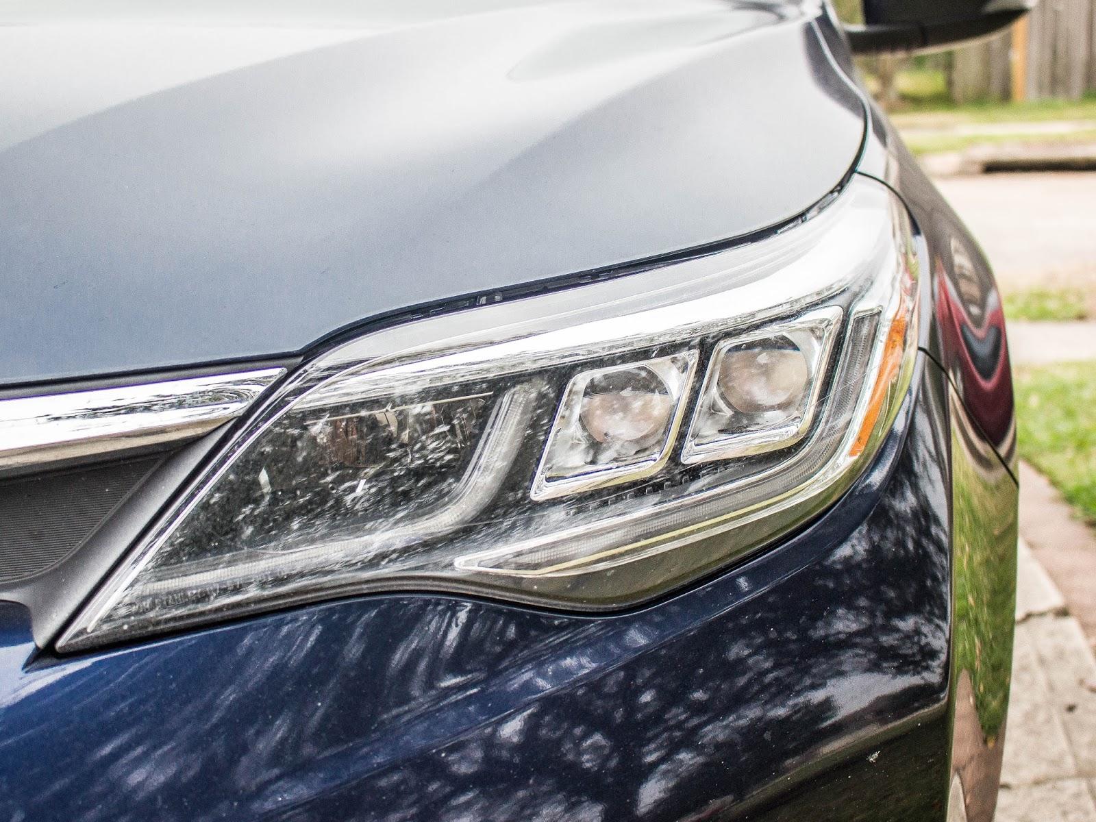 full size sedan led headlights
