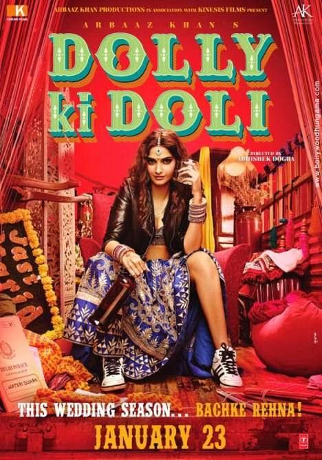 Dolly Ki Doli (2015) Hindi DVDScr 480p 400MB Poster