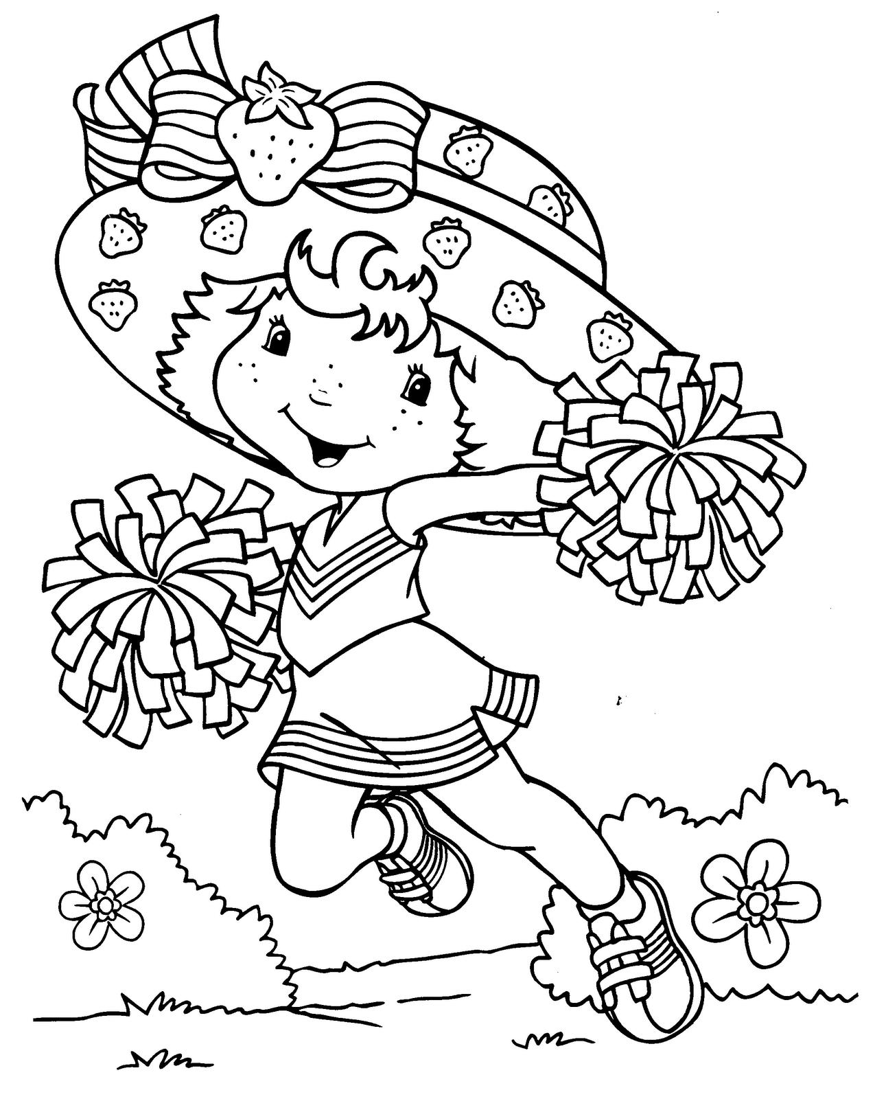 Desenhos da Moranguinho Para Colorir ~ Imagens Para Colorir
