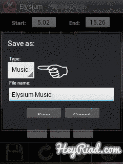Edit file mp3 di amdroid