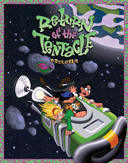 Return of the tentacle - game cover