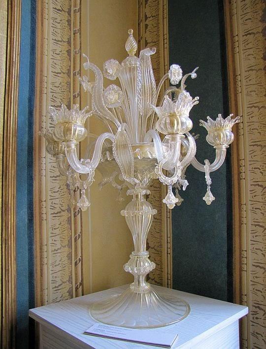 Kandelabr (szkło weneckie Murano)