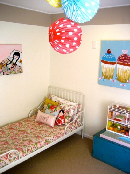 Girly Girl Vintage Style Bedrooms