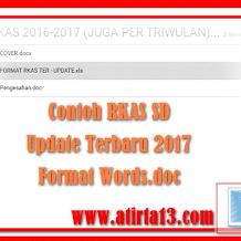 Contoh RKAS SD/Madrasah Terbaru 2017