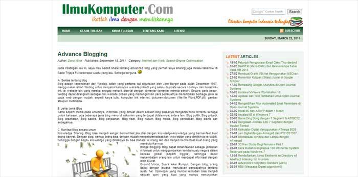 Situs Ebook Gratis Dan Lengkap