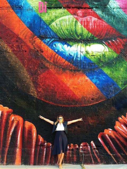 Divando no Mural Etnias
