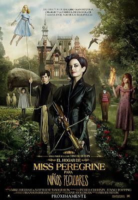 Miss Peregrine y los Niños Peculiares en Español Latino