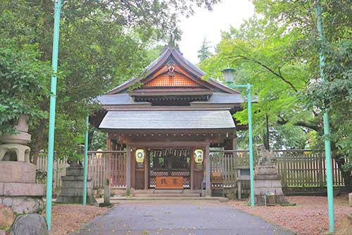Suehiko Shrine, Seto-shi, Aichi Prefecture, Japan.