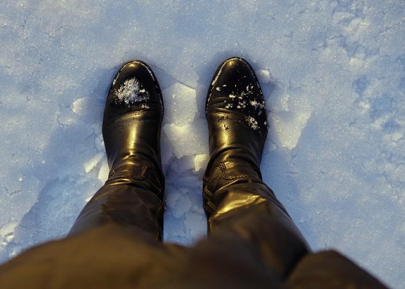Talvijalkineet, talvi