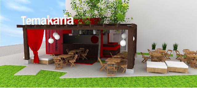 Container Restaurant Design