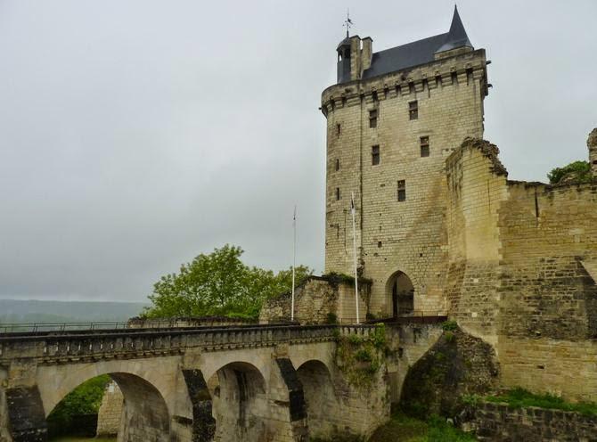 Château de Chinon.
