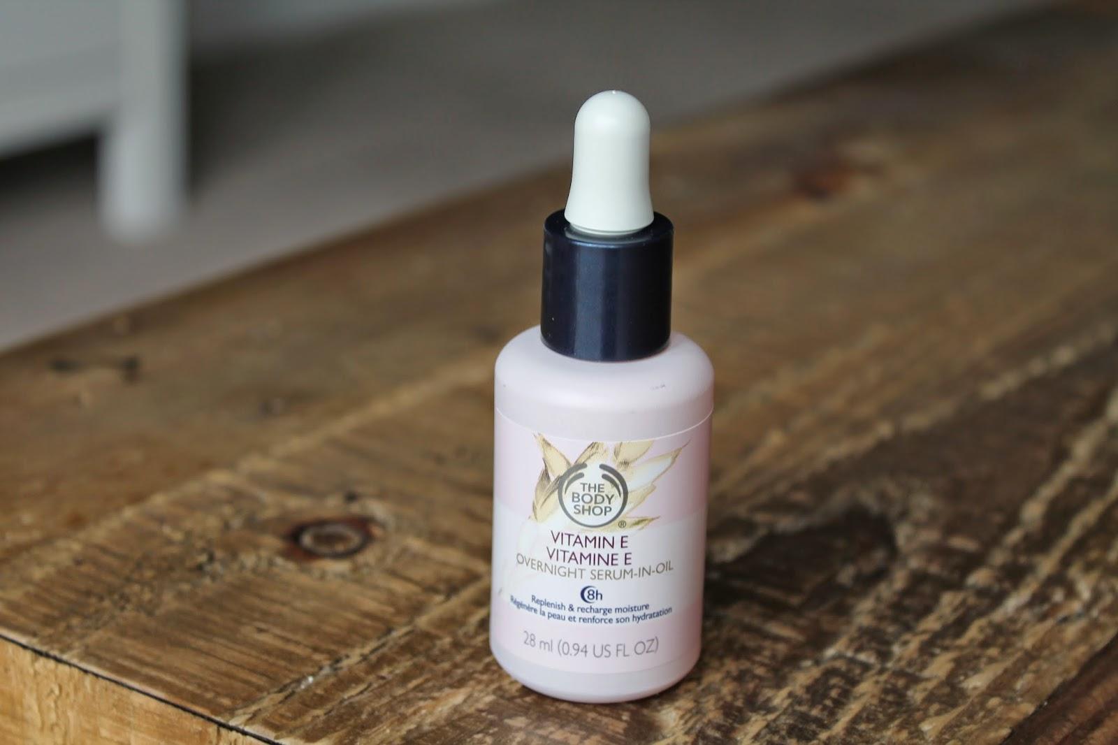 The Body Shop Vitamin E Overnight Serum-in-Oil Review